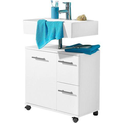 SCHILDMEYER kast Emmi met vak witte badkamer wastafelonderkast 23