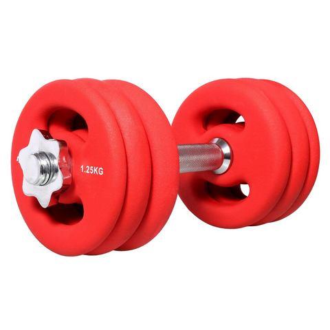 Halterset, »SP-WS-015-N«, SPORTPLUS, 15 kg