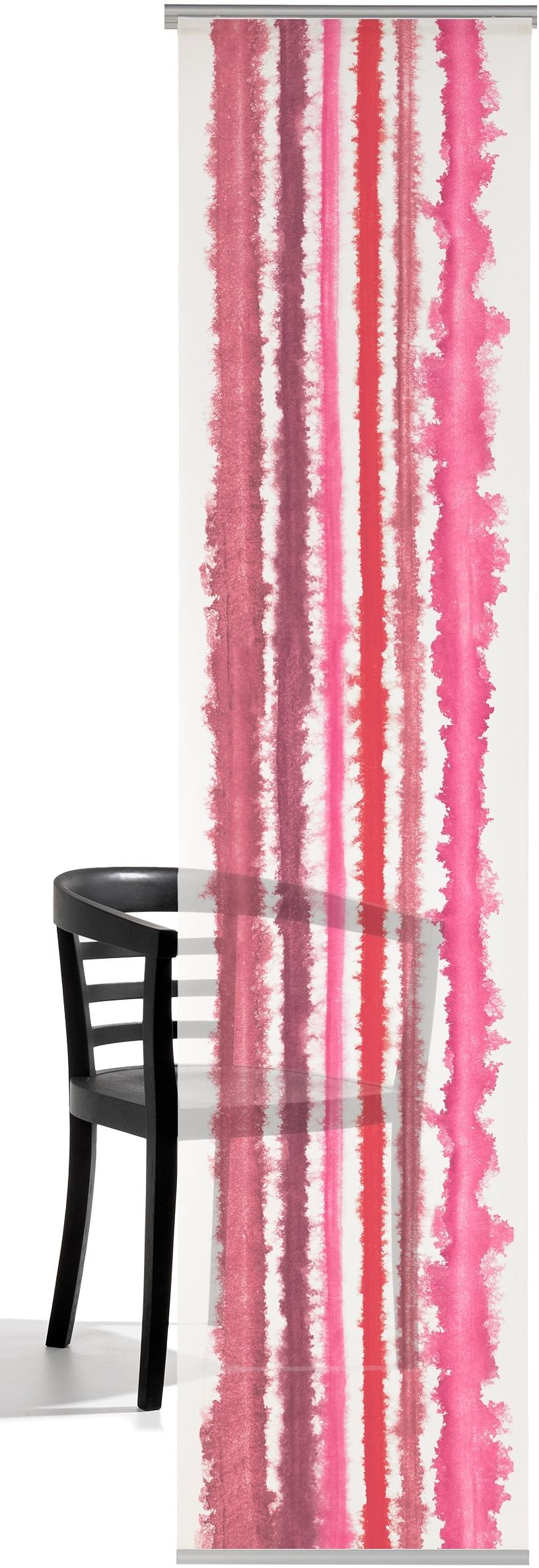 emotion textiles paneelgordijn Aquarelstrepen HxB: 260x60, inclusief bevestigingsmateriaal (1 stuk) veilig op otto.nl kopen