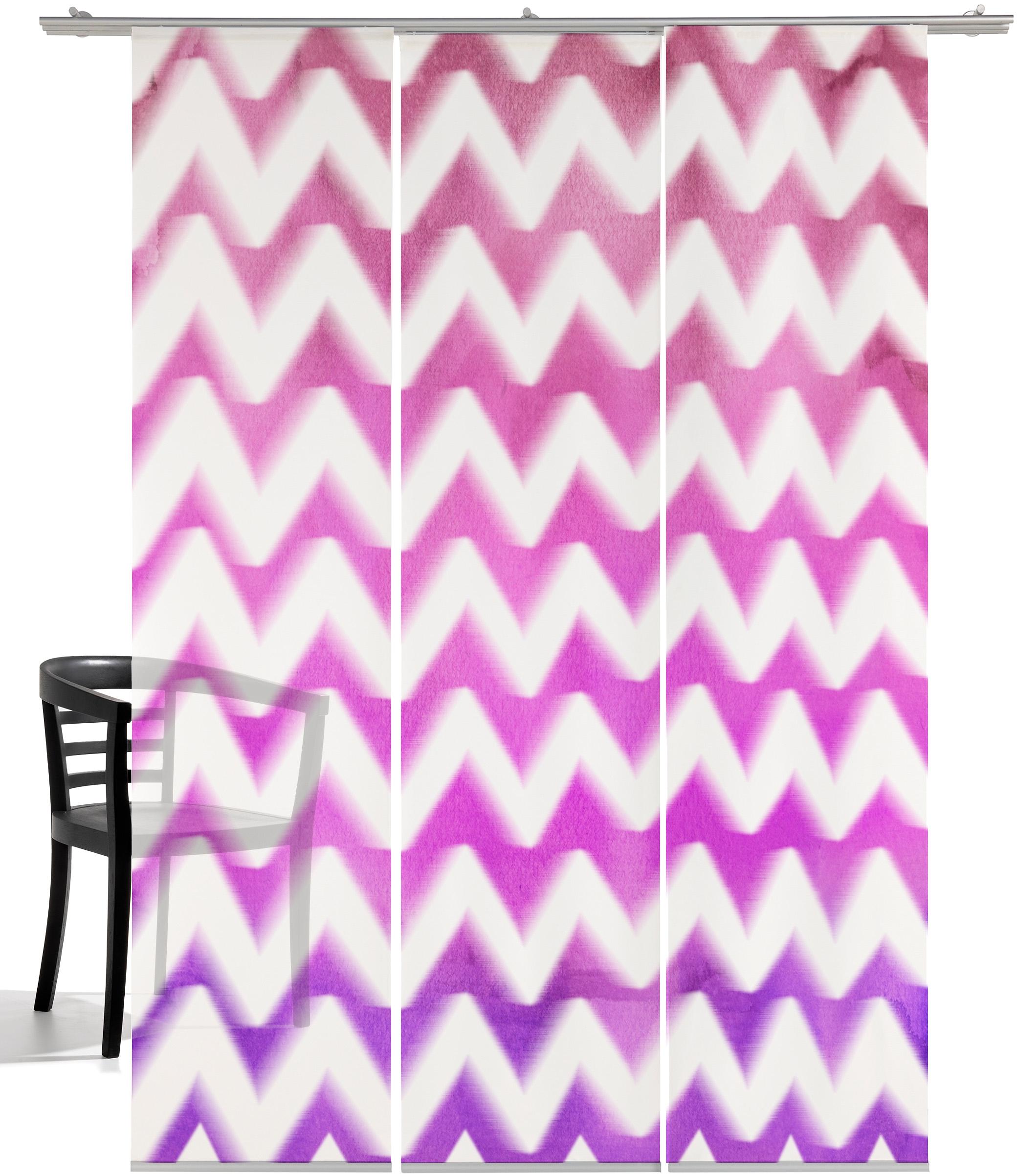 Op zoek naar een emotion textiles Paneelgordijn Zigzag HxB: 260x60, inclusief bevestigingsmateriaal (3 stuks)? Koop online bij OTTO