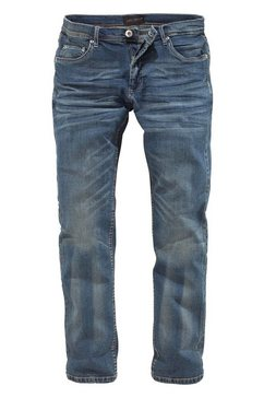 Straight Fit-jeans in used-wassing