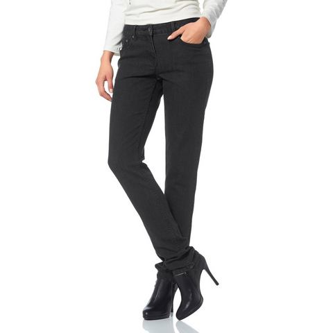 ANISTON Five-pocketsjeans in used-wassing