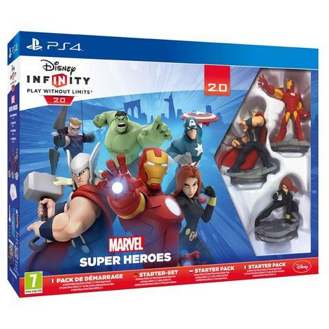PS4 Infinity 2.0 Marvel Super Heroes Starter Pack