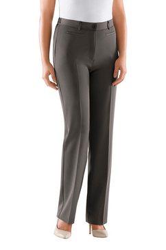 Pantalon met persplooien