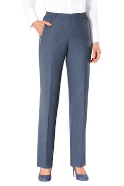 pantalon in comfortmodel blauw