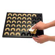 zenker bakplaat voor koekjes 2-delig zwart
