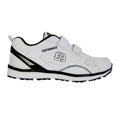 Brütting Loopschoen / Sportschoen - zwart/wit »PERFORMANCE V«