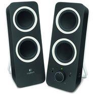 logitech speaker z200 midnight black zwart