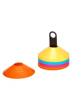 rio fit markeringshoedjes 40 stuks per set in 4 kleuren multicolor