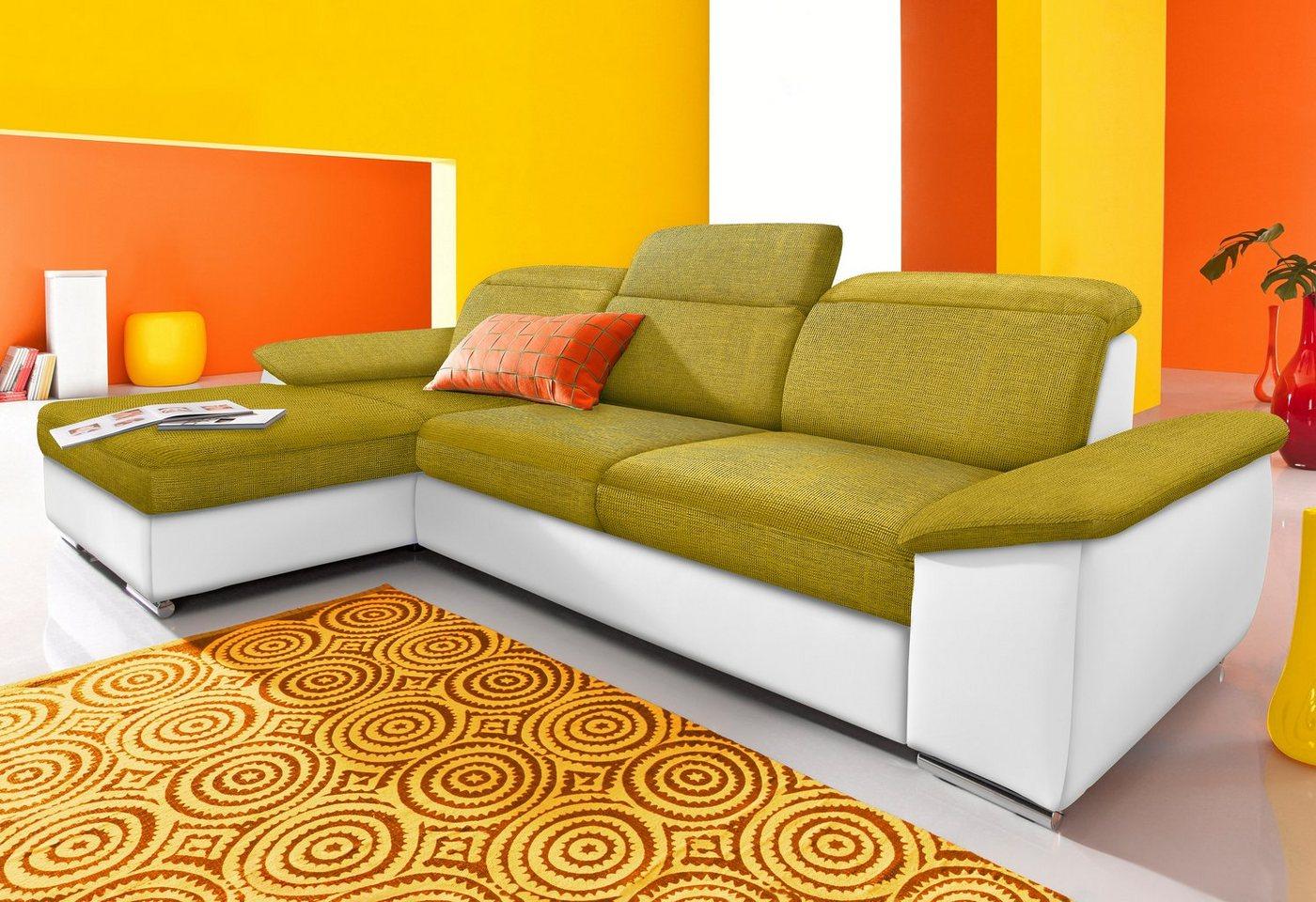SIT & MORE Hoekbank naar keuze met chaise longue