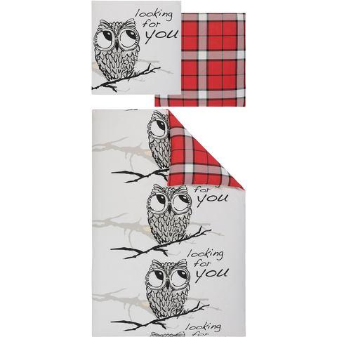 MY HOME Overtrekset Owl