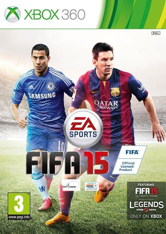 Microsoft XBOX 360 Game FIFA 15 nu online bestellen