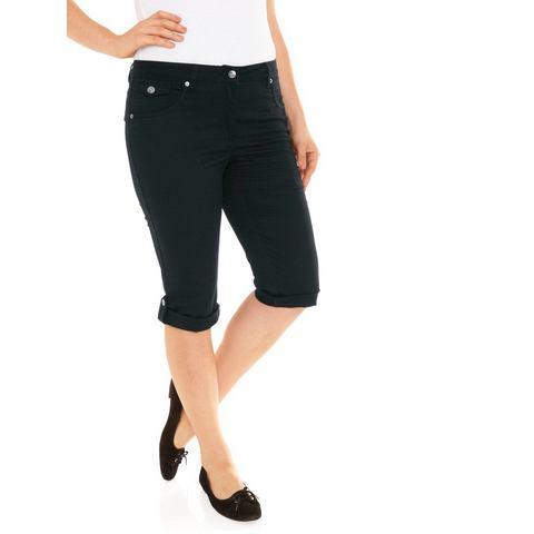 Modellerende capri-jeans