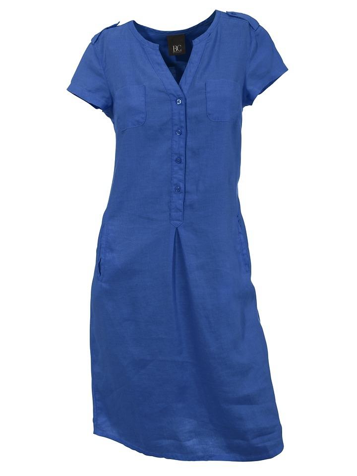 Linea Tesini By Heine Linnen jurk goedkoop op otto.nl kopen