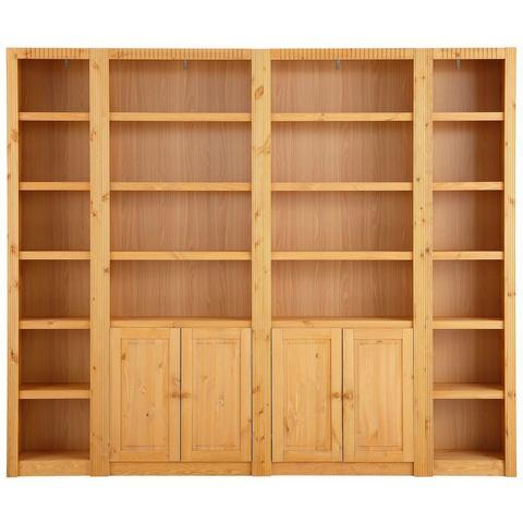 Kasten  vitrinekasten HOME AFFAIRE Open kast Billie breedte 255 cm 246554
