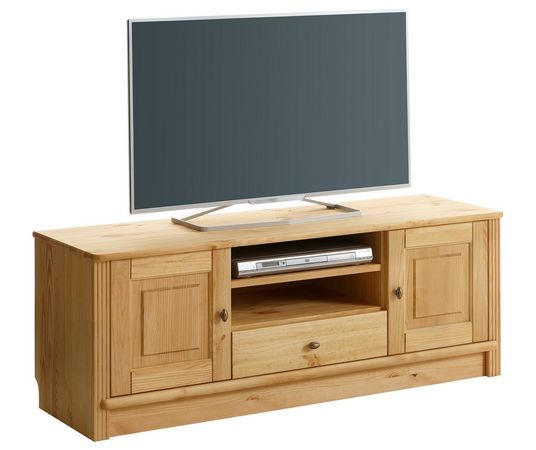 home affaire tv lowboard soeren breedte 131 cm makkelijk. Black Bedroom Furniture Sets. Home Design Ideas