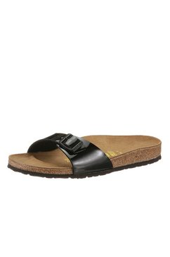 birkenstock slippers »madrid« zwart