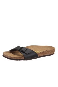 birkenstock »madrid« slippers zwart