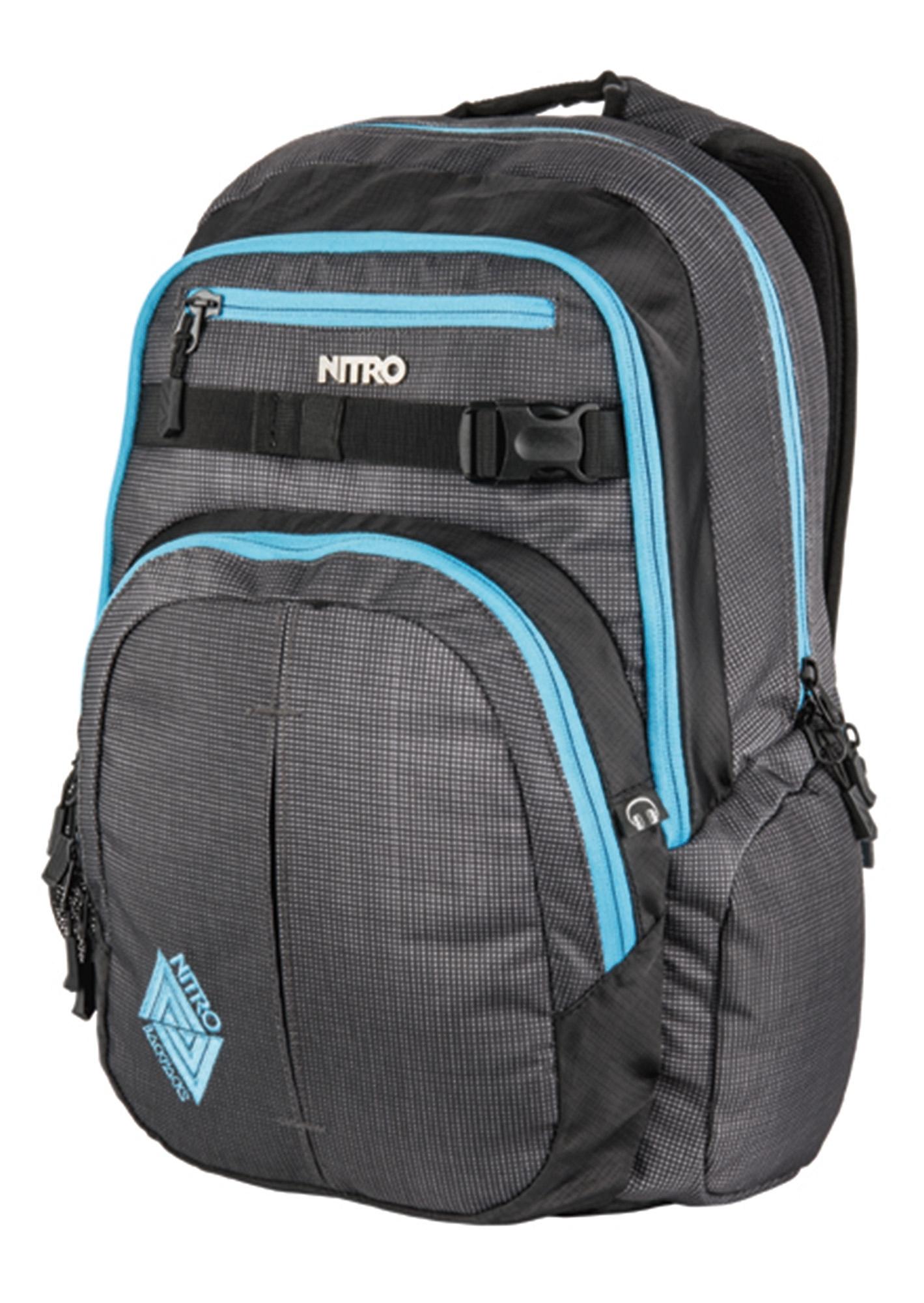 Nitro schoolrugzak, »Chase - Blur - Blue Trims« - verschillende betaalmethodes