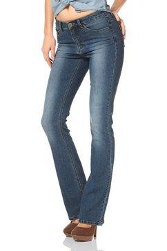arizona high-waist-jeans bootcut blauw