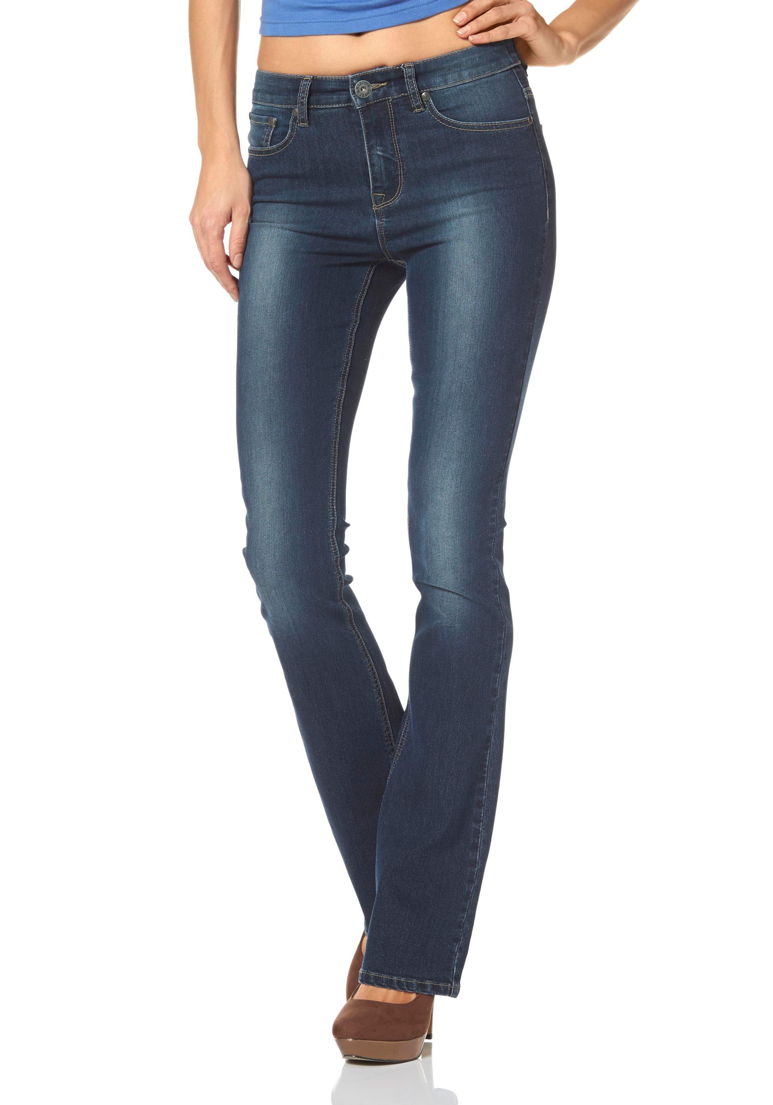 ARIZONA High-waist-jeans Bootcut online kopen op otto.nl
