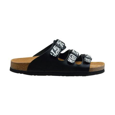 LICO Slippers-Muiltjes zwart