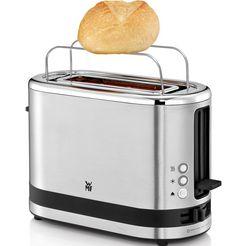 wmf toaster »wmf kuechenminis toaster«, voor 1 sneetje brood, 600 watt zilver