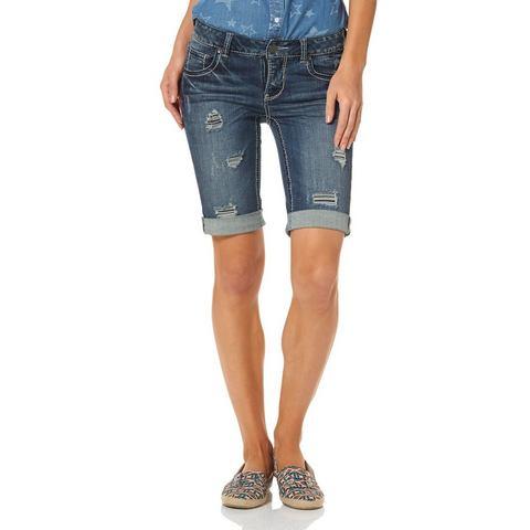 ARIZONA Jeans-bermuda in 5-pocketsstijl