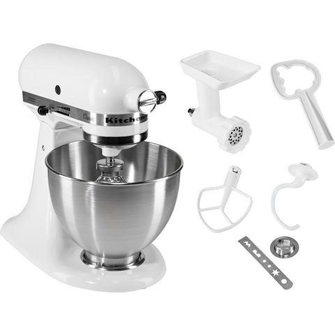 KitchenAid keukenmachine Classic 5K45SS EWH incl. accessoires