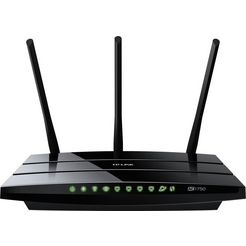 tp-link router »archer c7 - ac1750 dual band« zwart