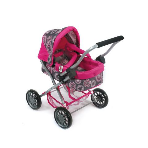 CHIC 2000 Poppenwagen Smarty Hot pink pearls