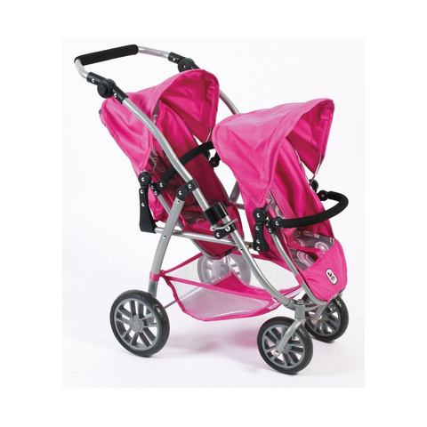 CHIC 2000 Duo-poppenwagen Vario Hot PinkPearls