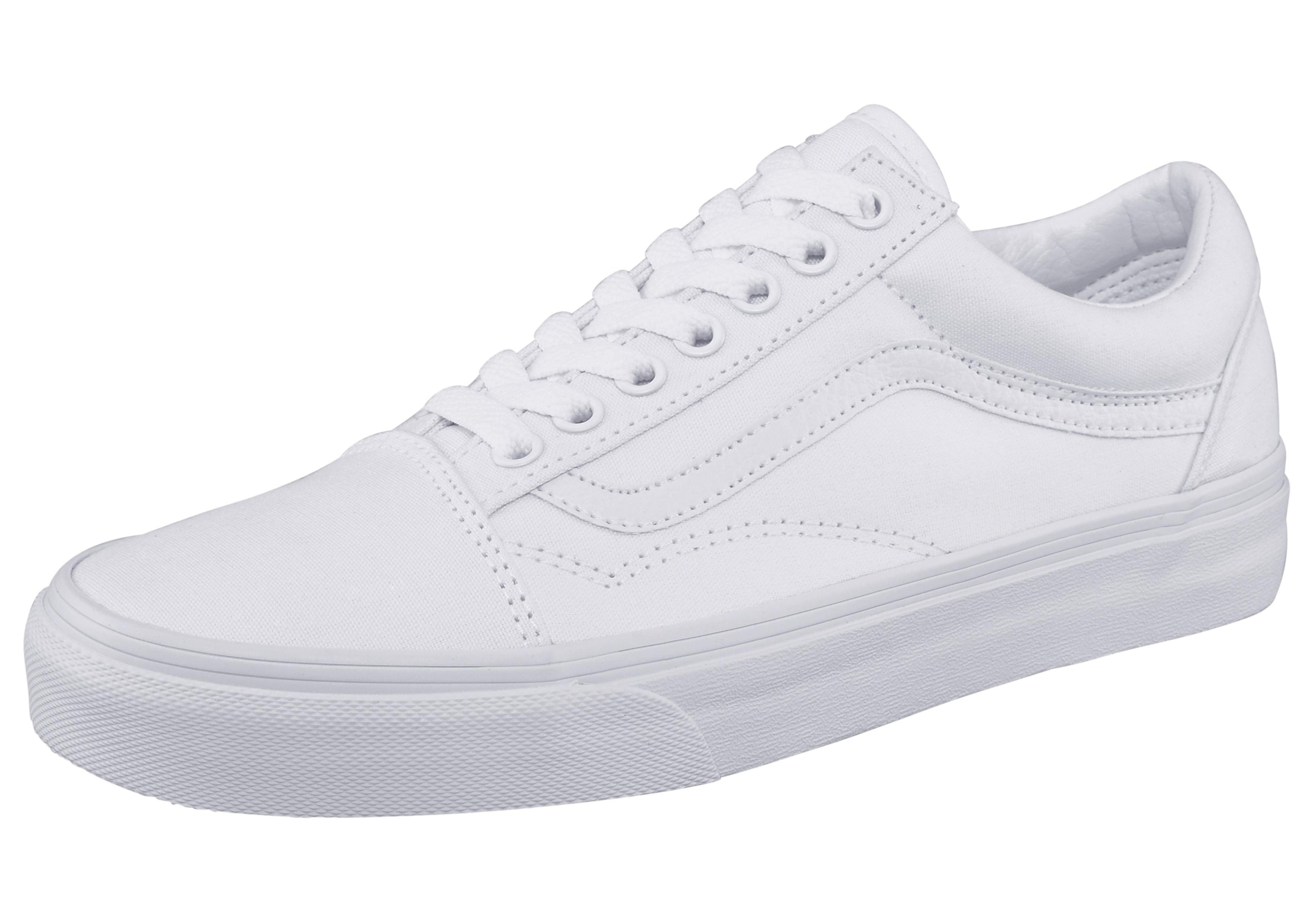 vans witte sneakers