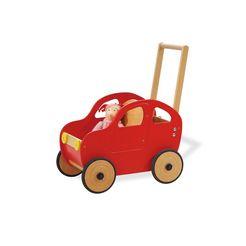 pinolino loopkar auto jonas rood