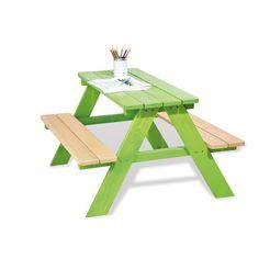pinolino kinderzithoek nicki voor 4, groen gemaakt in europa groen