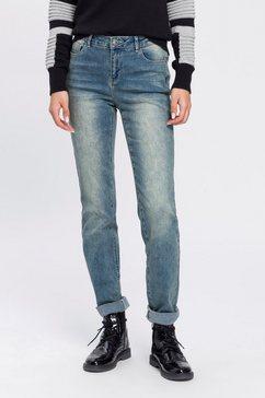 arizona skinny fit jeans met thermo-effect high waist blauw