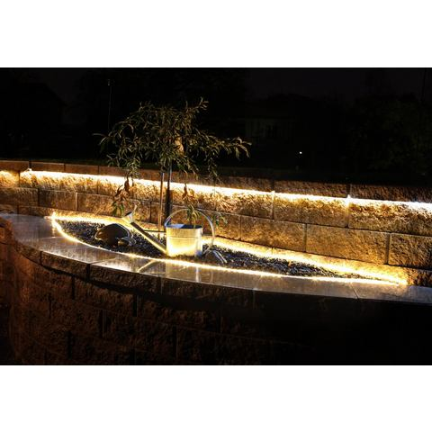 LED-lichtslang Ropelight Flex, 6 meter, warm-wit