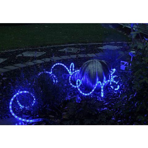 LED-lichtslang Ropelight Flex, 6 meter, blauw