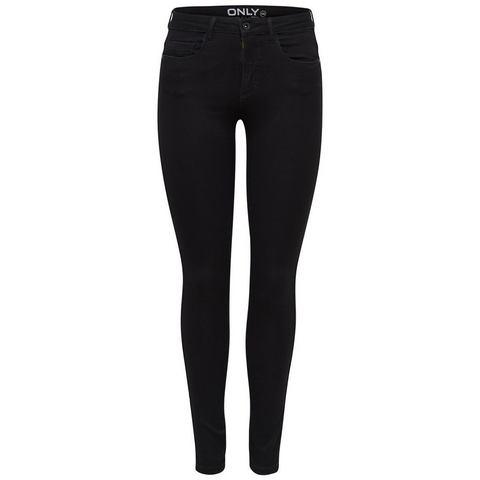 ONLY ROYAL Slim fit jeans Zwart