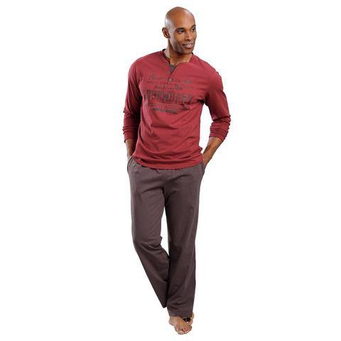 H.I.S Jersey-pyjama met ronde hals