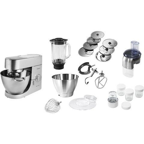 Kenwood Keukenmachine Chef KMC050, 4,6 liter, zilverkleur, incl. extra accessoir