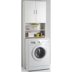 kast voor wasmachine olbia wit