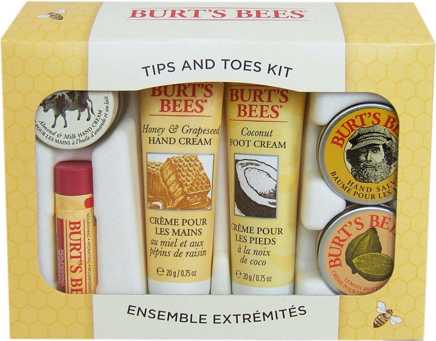 NU 20% KORTING: BURT´S BEES Verzorgingsset Tips & Toes Kit