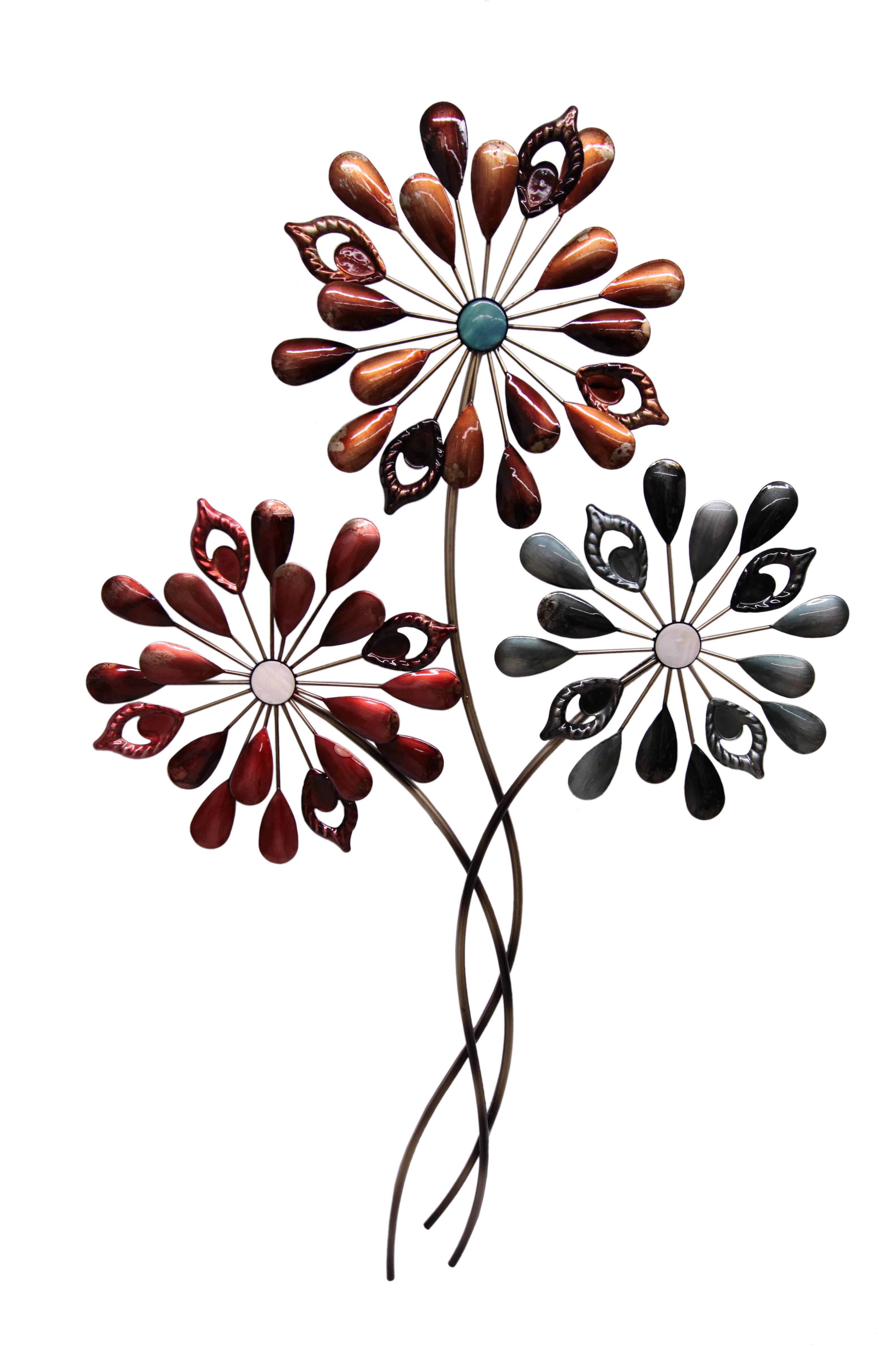 I.GE.A. Sierobject voor aan de wand Bloemen bestellen: 30 dagen bedenktijd