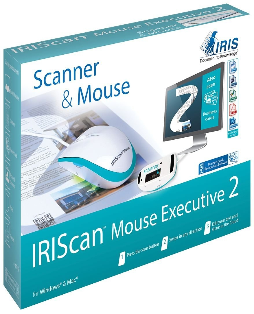 Iris can Mouse Executive 2 (458075) »Alles-in-één muisscanner« veilig op otto.nl kopen