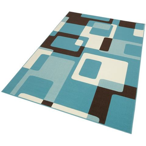 Tapijt Retro 80 x 150 cm Lichtblauw, Hanse Home Collection