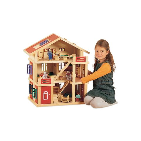 Klassiek poppenhuis