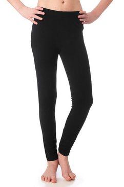arizona legging van katoen-stretch zwart