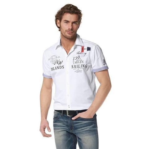 RHODE ISLAND Overhemd met korte mouwen