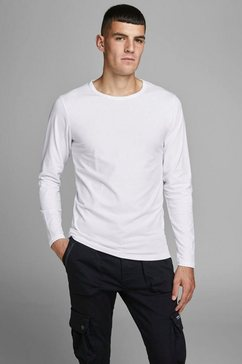 jack  jones longsleeve »basic tee« wit
